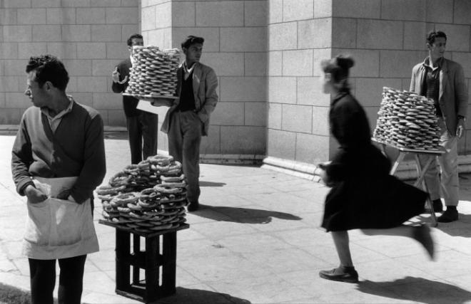 Athènes, 1958.
